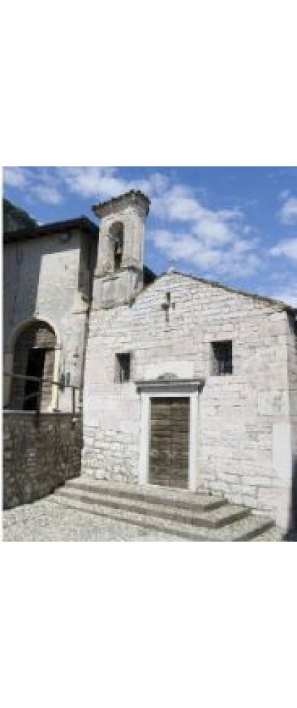 LITTLE CHURCH OF SAN GIACOMO DI CALINO